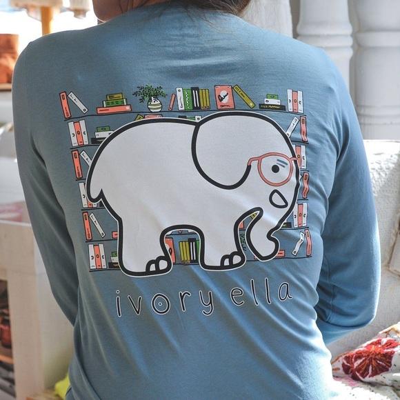 1479c35b8 ivory ella Tops - ivory ella bookworm tee